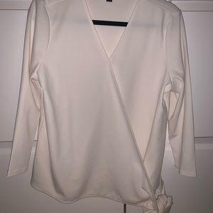 Ann Taylor cream blouse